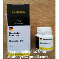 Wholesale White Injectable Anabolic Steroids Oral Dianabol Metandienone CAS 72-63-9 from china suppliers