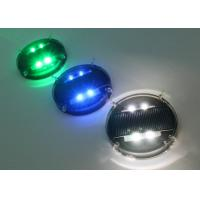 Buy cheap Waterproof Solar Road Markers / Flashing Marker Lights With Li-on Battery from wholesalers