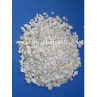 Wholesale White SiO2 98.5% Min Fe2O3 0.25% Quartz Ore 20mm Granular from china suppliers