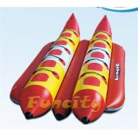 Wholesale Durable Towable Inflatable Banana Boat For Exciting Aqua Park Games from china suppliers