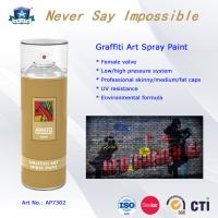 Wholesale OEM Art Graffiti Spray Paint with Advanced Formula and Professional Valve System from china suppliers