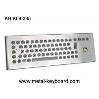 Wholesale 67 keys Metal desktop Industrial keyboard with Trackball for Industrial Control Platform from china suppliers