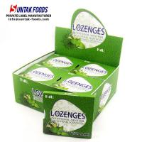 Wholesale Naturally Breath Fresh Sugar Free Lozenges Eucalyptus Flavored With Blister Pack from china suppliers