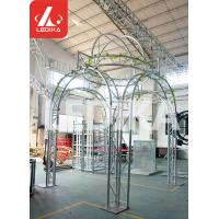 Wholesale Wedding / Event / Party Crowd Control Barrier Circle Shape White Stage Truss from china suppliers