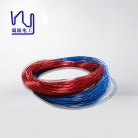 Buy cheap VDE certificated 0.15-1.0mm CLASS B/F/H self bonding solderable triple insulated layer magnet copper wire from wholesalers