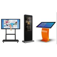 "Wholesale Wall Mounted Multi Touch Kiosk LCD Advertising Player IR 43"" 49"" 55"" Inch from china suppliers"