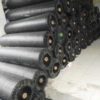 Wholesale plastic ground cover geotextile anti uv woven geotextile/agricultural mulch film from china suppliers