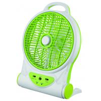 Wholesale 10 Inch Multifuction Electric Rechargeable Fan With Mobile Phone Charger from china suppliers