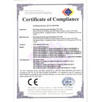 Shenzhen Guanhong Automation Co., Ltd. Certifications