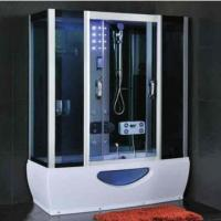 Wholesale Modern Rectangular Shower Enclosure With Sliding Door Steam Room And Shower Combo from china suppliers