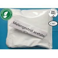 Wholesale Oral Estrogen Steroid Powder Melengestrol Acetate For Anti Cancer CAS 2919-66-6 from china suppliers