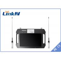 Buy cheap Battery Powered 4 Hours COFDM Receiver , Digital Video Receiver Outdoor from wholesalers