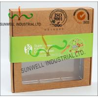 Wholesale Rigid Kraft Paper Cardboard Food Packaging Boxes With Art Paper Wraped Finished from china suppliers