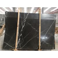 China Grey Marble Slab , Polished Finished Stone Marble Slab Custom Size on sale