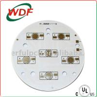 Buy cheap round led pcb board with E-test from wholesalers