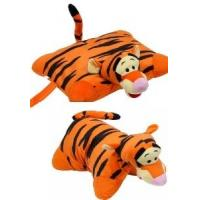Wholesale Orange Lovely Disney Tigger Pillow Plush Cushion and Pillow With Plush Tigger Head For Bedding from china suppliers