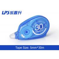 Buy cheap Customized Assorted Color White Out Correction Tape 5mm * 30m from wholesalers