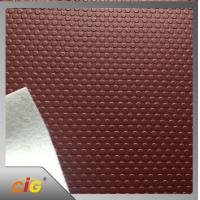 Wholesale Waterproof  pu pvc leather Small Circle Design for Auto Car Floor from china suppliers