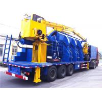 Wholesale 110KW Scrap Aluminum Alloy Portable Baler , Hydraulic Baling Machine from china suppliers
