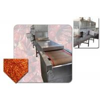 China Plc Control Microwave Tunnel Oven , Industrial Food Dehydrator Machine on sale