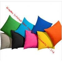 Wholesale Colorful Decorative Square Throw Pillows , Cotton Modern Sofa Back Cushion from china suppliers