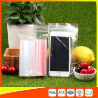 10 x 15 Clear Reclosable Zipper Plastic Bag / Self Sealing Poly Bag