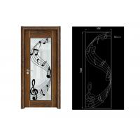 Wholesale Steel House Luxury Double Door Wrought Iron Door Glass Agon Filled 22*64inch Size Shaped from china suppliers