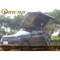 Wholesale Black Hard Shell Roof Top Tent Hardtop / Vehicle Pop Up Tents With One Side Open from china suppliers