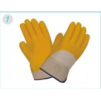 Wholesale OEM Industrial Protective Gloves With Soft Jersey Liner For Construction from china suppliers