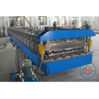 Wholesale 7.5kw Double Layer Roll Forming Machine 0.4 - 0.7mm 380V Roll Former Machine from china suppliers