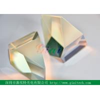 CaF2 ZnSe 40 - 20 high precision Prism Optical glass Uncoated