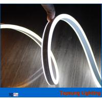 Wholesale hot sale  neon light 24v double side white led neon flexible rope for decoration from china suppliers