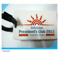 Wholesale pvc new design baggage tag from china suppliers
