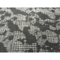 Quality Fashion Design Double Knit Wool Fabric For Dressmaking Warm Feeling 68012-1 for sale