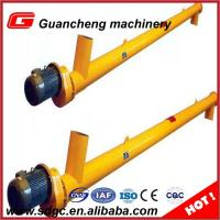 Wholesale 35 t/H Shaftless Cement Screw Auger Conveyor Yellow 219mm Conveyor LSY219 from china suppliers
