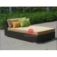 Quality All weather modern rattan furniture sofa bed for sale