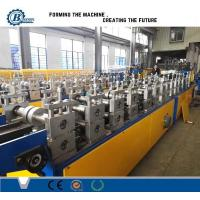 Wholesale Light Weight Truss Furring Channel Steel Roll Forming Machine With Non Stop Cutting from china suppliers