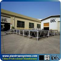 Buy cheap RK 1mx2m retractable industrial stage platform with aluminum portable frame from wholesalers