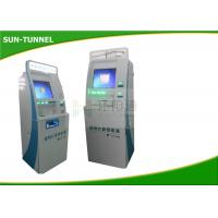 Quality Multifunction Patient Registration Kiosk,Lcd Touch Screen Kiosk With Card Reader for sale