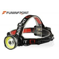 Wholesale 3 Gears 3W COB Lamp Rechargeable Outdoor LED Headlamp for Camp Hike Hunt Lights from china suppliers
