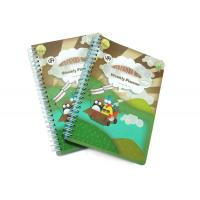 Wholesale PP Cover Memo Pad Custom Spiral Notebooks With A6 / A5 / A4 Lined Paper from china suppliers