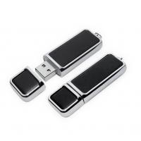 Wholesale Leather USB Flash Drives with Keychain 4GB 8GB 16GB from china suppliers