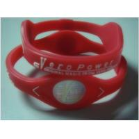 Wholesale silicone power wristband from china suppliers