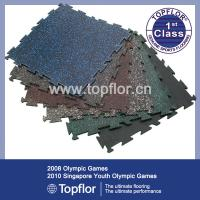 Wholesale Nontoxic Rubber flooring/Industrial flooring for gym from china suppliers