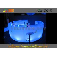 Wholesale Event LED Bar Counter With 16 Colors , Illuminated Mobile Bar Counter from china suppliers