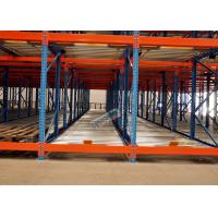 Wholesale Freezers Pallet Flow Racking Maintenance Free , Material Handling Racks FIFO Operated from china suppliers