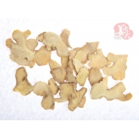 Wholesale None GMO 1000cfu/G 7mm Spicy Yunnan dehydrated ginger flakes low so2 from china suppliers