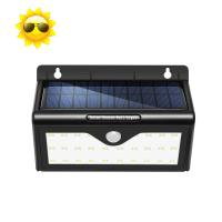 Wholesale Outdoor Solar Powered Motion Sensor LED Light Solar Garden Light Wall Mounted from china suppliers