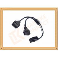 Wholesale OBD 16 Pin Automotive Extension Male To Female Cable Y Type CK-MF16Y02L from china suppliers