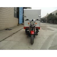 Wholesale Shaft Drive Manul Clutch Closed Box Cargo Tricycle , Gasoline Tricycle Trike from china suppliers